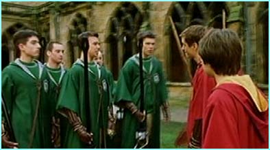 Slytherin verses Gryffindor should be a good match