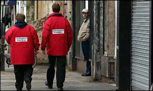 Community wardens in Hull