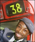 London bus conductor