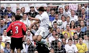 Kewell scored Leeds' winner on 67 minutes