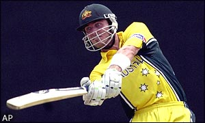 Damien Martyn on his way to hitting 73 off 87 balls