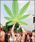 Pro-cannabis march