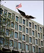 American embassy in London