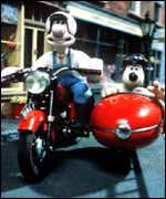 Wallace and Gromit, BBC
