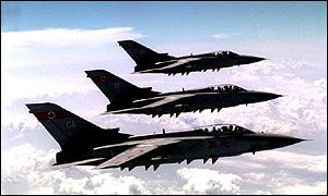 Tornado jets have patrolled the no-fly zones