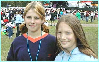 Meryl and Becky were at the Proms to report for Newsround