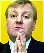 Liberal Democrat leader Charles Kennedy