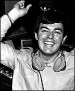 Tony Blackburn at Radio 1's launch