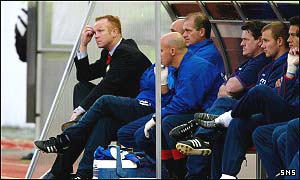 McLeish wants to see more from his players