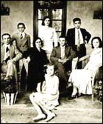 The Catena family in 1935