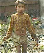 Bangladeshi child