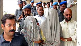 Suspects appear in karachi court on Friday 20 Sept