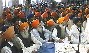 Sikhs at the convention