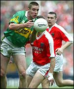 Kerry defender Tomas O'Se in action at Croke Park