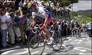 David Millar was ninth overall before Sunday's stage