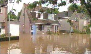 Flooding in Inverness