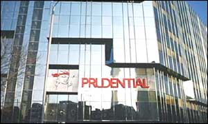 Prudential's building in Euston, London