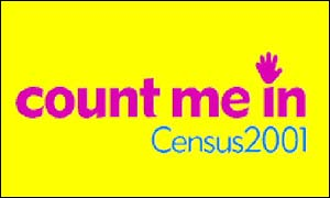 Census 2001 advert