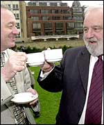 Ken Livingstone and Frank Dobson