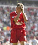 Liverpool's England striker Michael Owen
