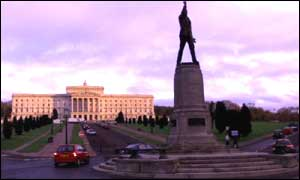 The future of the Stormont Government is uncertain