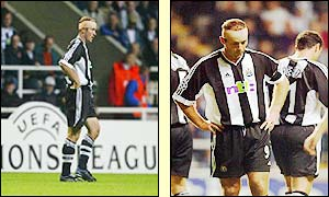 Shearer feels the pressure as the Magpies go down 1-0 at home to Feyenoord