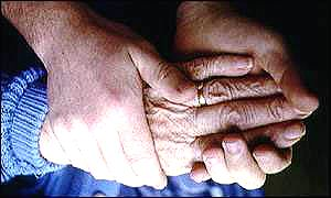 Woman with arthritis