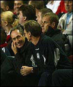Houllier is all smiles after Baros strikes