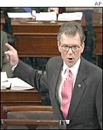 Democratic Senator Thomas Daschle