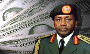Former Nigerian military ruler General Sani Abacha