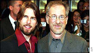Tom Cruise and Steven Spielberg