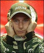 Eddie Irvine spent a lot of time pondering the failings of his Jaguar in 2002