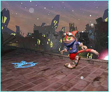 Platform game Blinx is tipped to be massive. The lead artist is the man who designed Sonic the Hedgehog