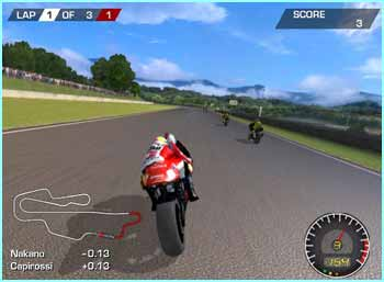 Moto GP will be one of the games given away with the Xbox Live pack when it's launched next year