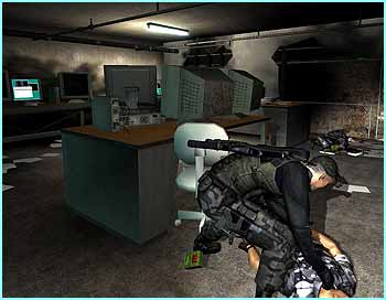 Splinter Cell looks amazing. You play a top US agent and need to be super-stealthy to get things done