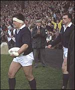 Scotland captain David Sole