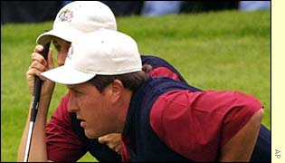 David Toms and Phil Mickelson