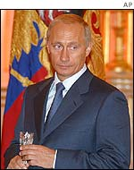 Vladimir Putin, presidente de Rusia.