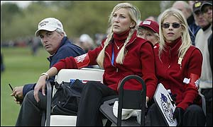 Bbc Sport Golf Ryder Cup Standing By Their Men