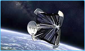 Artist's impression of a space sail