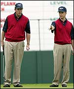 Phil Mickelson and David Toms
