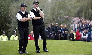 Pierre Fulke and Phillip Price lost on their Ryder Cup debut
