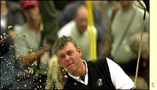 Darren Clarke got Europe out of trouble