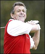 Former Ryder Cup captain Tony Jacklin