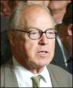 UN chief weapons inspector Hans Blix