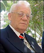 Georg Voegerl, former German Luftwaffe pilot