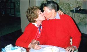 Nancy & Ronald Reagan