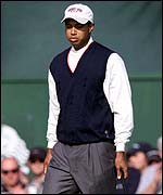 USA's Tiger Woods