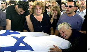 Funeral of 16 and 18-year-old sisters killed in Tel Aviv disco bombing