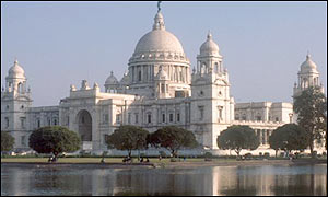 The Victoria Memorial in Calcutta